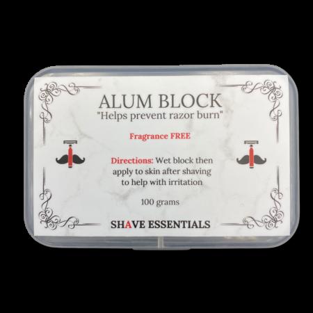 Alum Block | Shave Essentials
